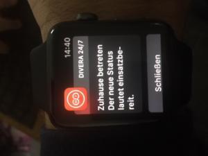 Applewatch Divera